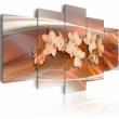 Obraz - Orchidea w ciepłych szarościach A0-N1335