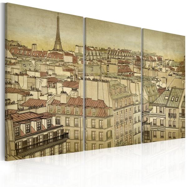 Obraz - Paryż - miasto harmonii (60x40 cm) A0-N1779