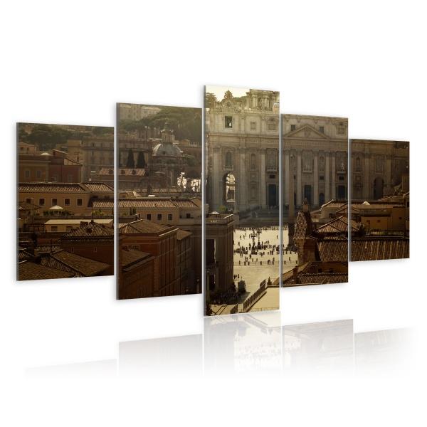 Obraz - Plac św. Piotra (100x50 cm) A0-N1518