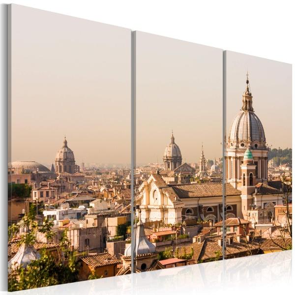 Obraz - Ponad dachami Wiecznego Miasta (60x40 cm) A0-N1520