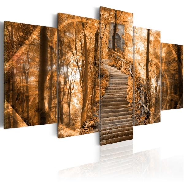 Obraz - Pukając do nieba bram (100x50 cm) A0-N1693