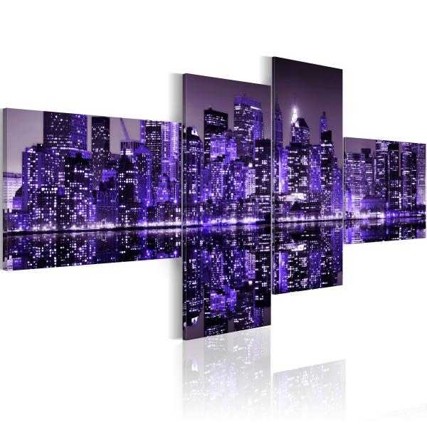 Obraz - Purple York (100x45 cm) A0-N1743