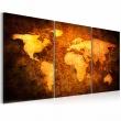 Obraz - Rdzawe kontynenty A0-N1292