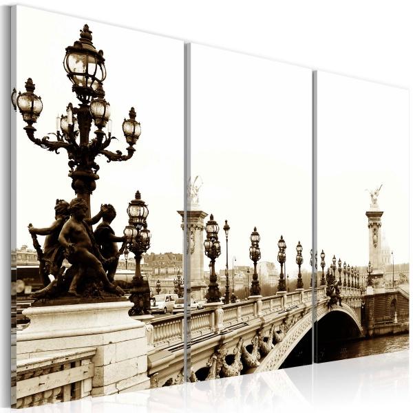 Obraz - Romantyczny spacer po Paryżu (60x40 cm) A0-N1454