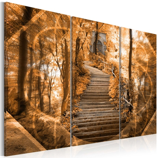 Obraz - Schody do nieba (60x40 cm) A0-N1691