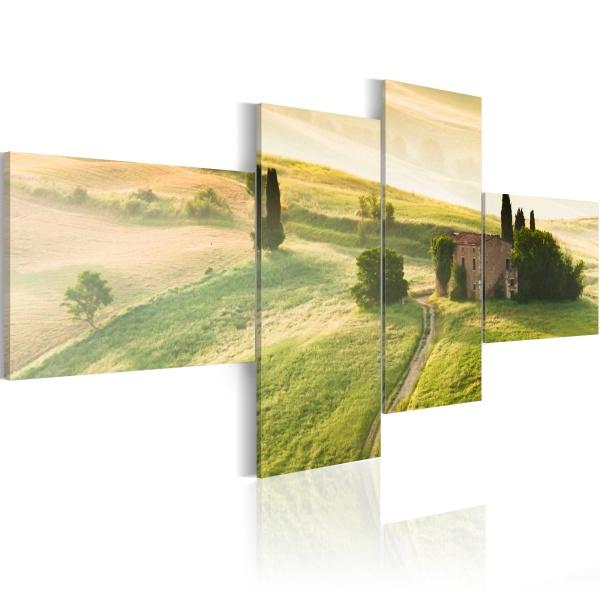 Obraz - Spokój Toskanii (100x45 cm) A0-N1538