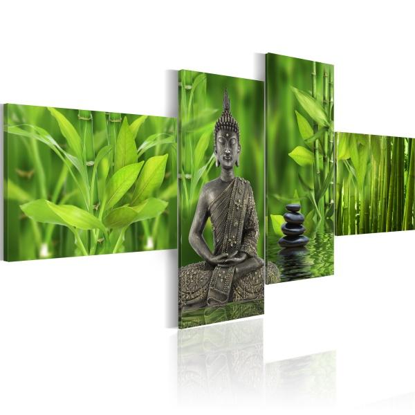 Obraz - Spokój, ukojenie, harmonia - Zen (100x45 cm) A0-N1436