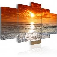 Obraz - Spokojny ocean (100x50 cm)