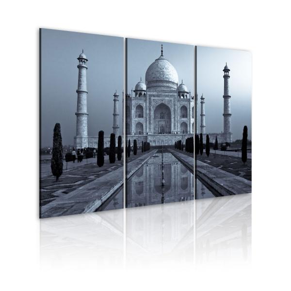 Obraz - Tadż Mahal nocą, Indie (60x40 cm) A0-N1546