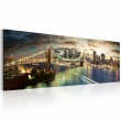 Obraz - The East River at night A0-N1198