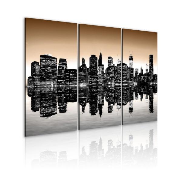 Obraz - Tonący Nowy Jork (60x40 cm) A0-N1821