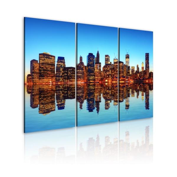 Obraz - Tysiące świateł - Nowy Jork (60x40 cm) A0-N1705