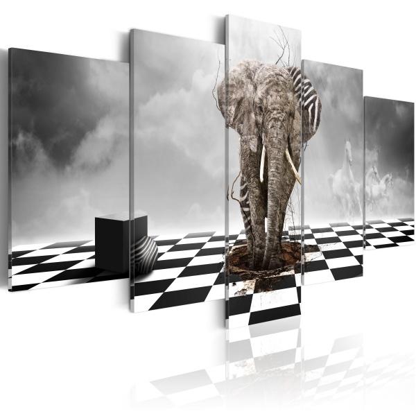Obraz - Ucieczka z Afryki (100x50 cm) A0-N1837