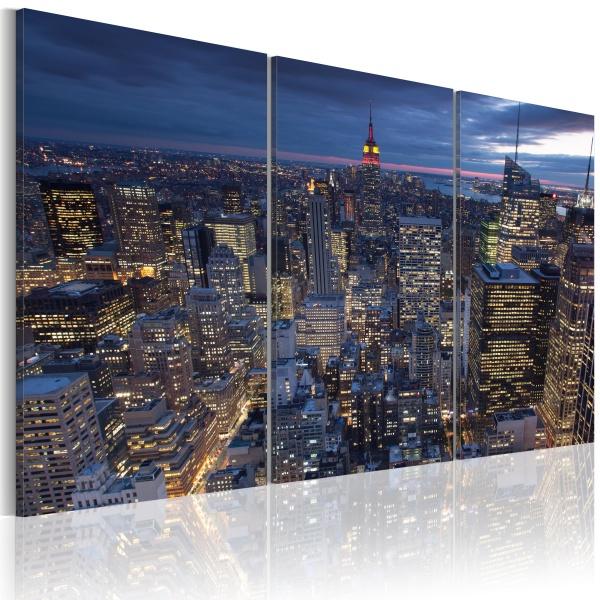 Obraz - Widok z góry - NYC (60x40 cm) A0-N1707