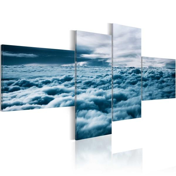 Obraz - Z głową w chmurach (100x45 cm) A0-N1567