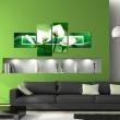 Obraz - Zielone kalie A0-N1312