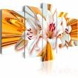 Obraz - Złoto lilii A0-N1122