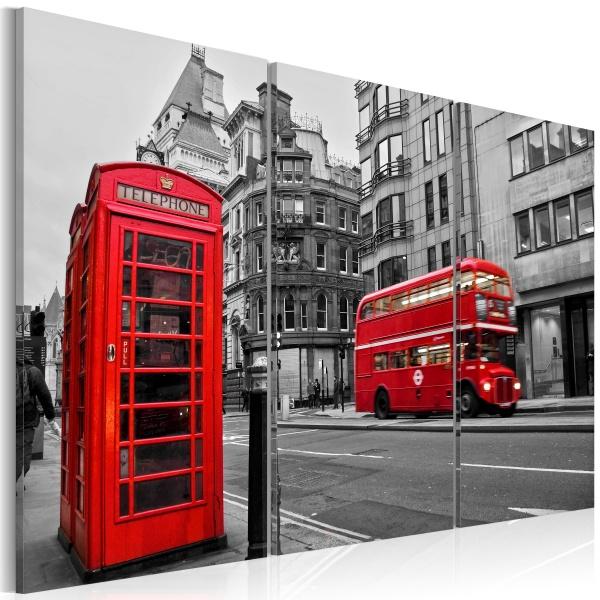 Obraz - Życie w Londynie (60x40 cm) A0-N1402