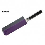 Ochraniacze na ostrze 25mm Bisbell 2szt - szary, fiolet