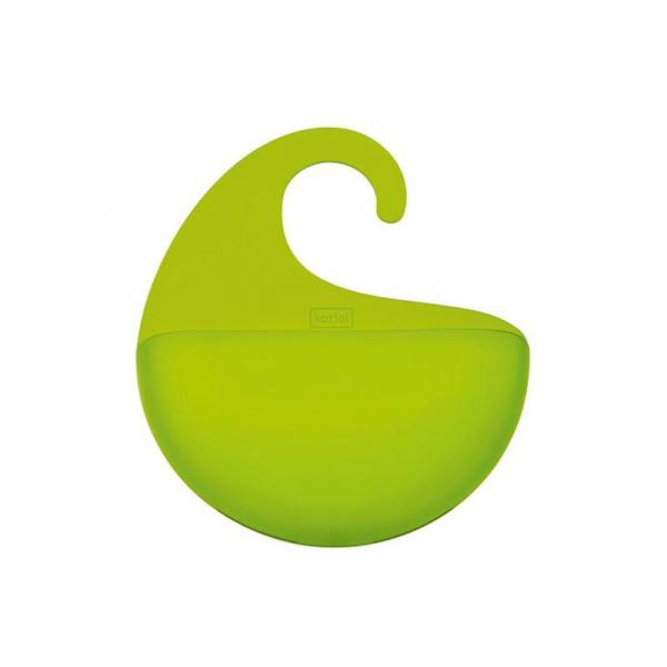 Organizer łazienkowy Koziol Surf XS zielony transparentny KZ-2844543