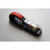 Ostrzałka wodna 550, MinoSharp PLUS 3  Ceramiczna czarno-czerwona