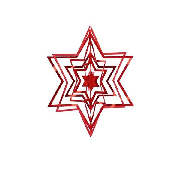 Ozdoba choinkowa Philippi czerwona  141004
