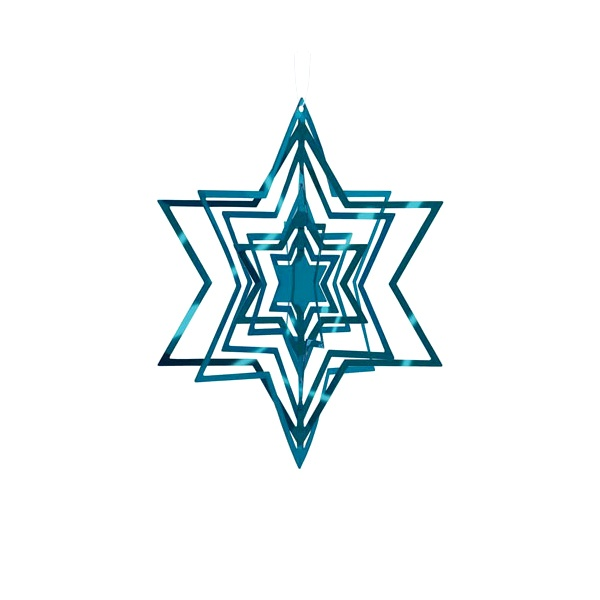 Ozdoba choinkowa Philippi niebieska P141008