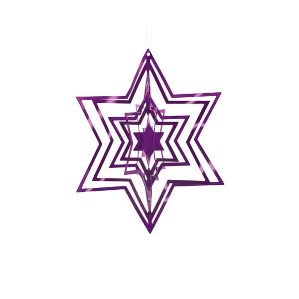 Ozdoba choinkowa Philippi purpurowa P141006