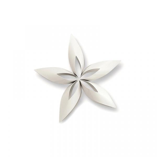 Ozdoba choinkowa S Philippi Stella gwiazdka biała P141011