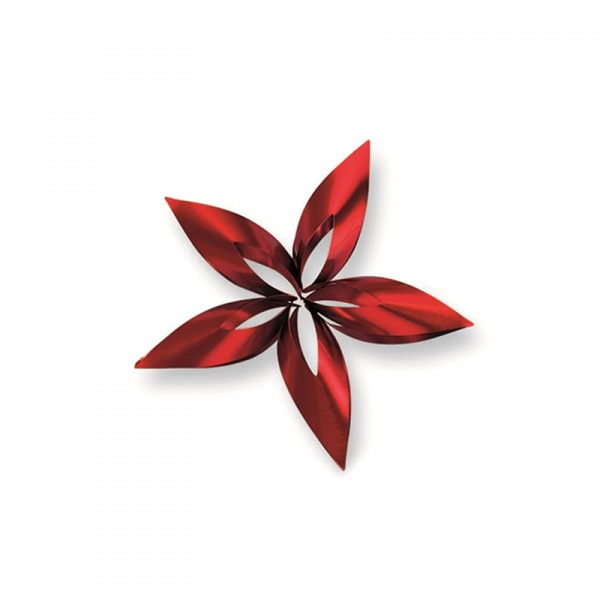 Ozdoba choinkowa S Philippi Stella gwiazdka czerwona P141013