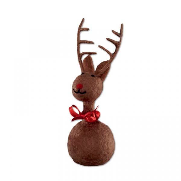 Ozdoba świąteczna 21 cm Philippi Ole brązowa 110005