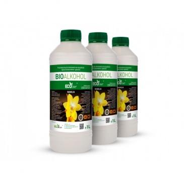 Paliwo do biokominków 1l EcoLine o zapachu wanilii