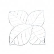 Panele dekoracyjne 4 szt. Koziol Leaf transparentne
