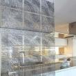 Panele dekoracyjne 4 szt. Koziol Silk antracyntowe KZ-2033540