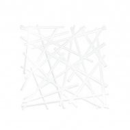 Panele dekoracyjne 4 szt. Koziol Stixx białe