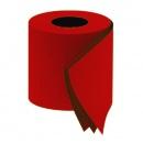 Papier toaletowy czerwony