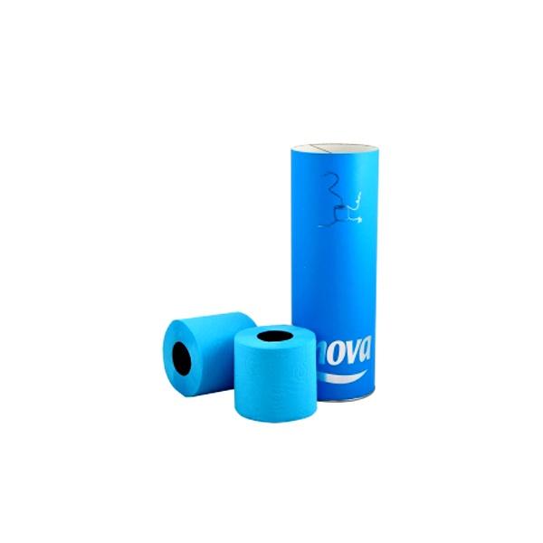 Papier toaletowy w tubie 3 szt. Renova niebieski 5601028011983