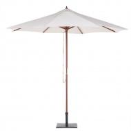 Parasol ogrodowy Ø270 cm beżowy Lucaniaso