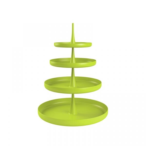 Patera czteropoziomowa Zak! Designs zielona 0204-230