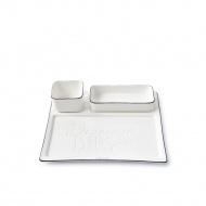 Patera do sosu Delicious Dips Plate Riviera Maison