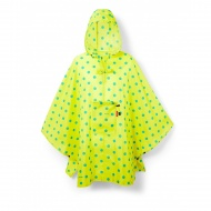 Peleryna mini maxi poncho lemon dots