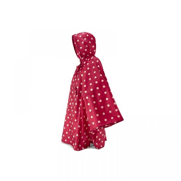 Peleryna PONCZO Mini Maxi Reisenthel ruby dots RAN3014
