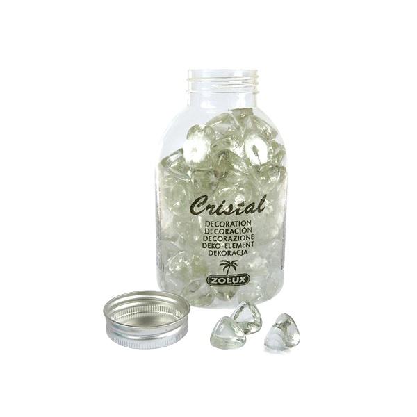 Perełki dekoracyjne do akwarium szklane Zolux CRISTAL 810g 357535