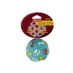 Piłka dla psa kauczukowa Zolux twarda 7 cm