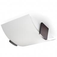 Plafon 10x33x29cm Sollux Lighting Emilio biały