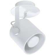 Plafon 12x12x19cm Sollux Lighting Larosa1 biały