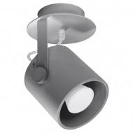 Plafon 12x12x19cm Sollux Lighting Larosa1 szary