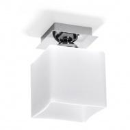 Plafon 18x12x12cm Sollux Lighting Piazza1 biały