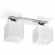 Plafon 18x35x12cm Sollux Lighting Piazza2 biały