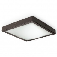 Plafon 22x22cm Sollux Lighting Studio wenge